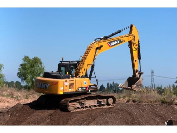 Excavadora Sy215C, Desde