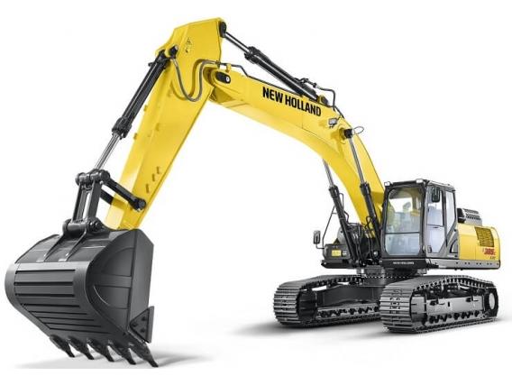 Excavadoras New Holland E385C Evo