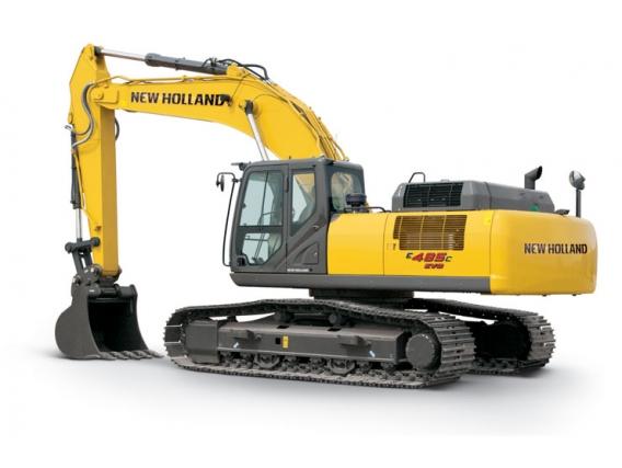 Excavadoras New Holland E485C Evo