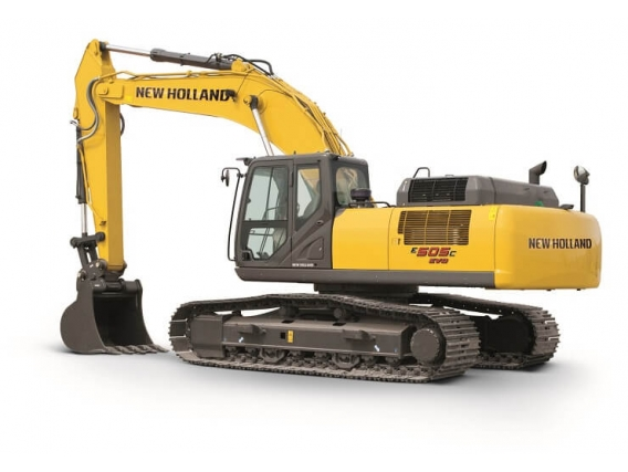 Excavadoras New Holland E505C Evo
