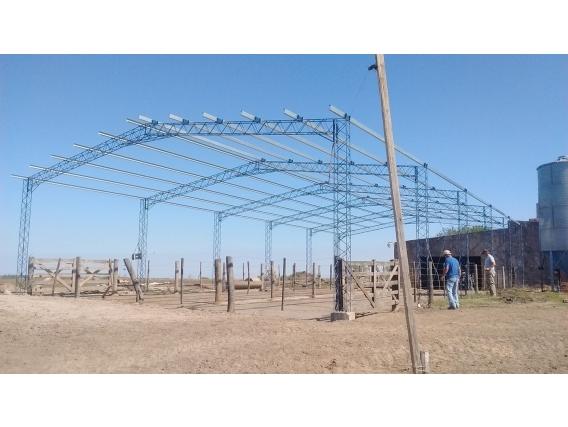 Fabricacion De Galpones- Tinglados - Estructuras.