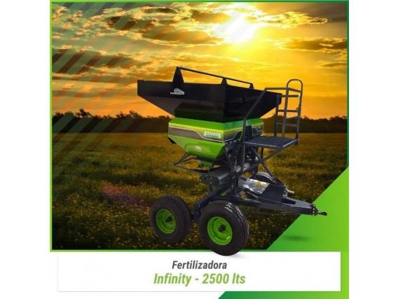 Fertilizadora Bernardin Premium E Infinity Arrastre