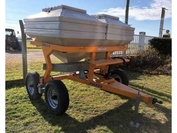 Fertilizadora De Arrastre 3000 Litros Pozzi - Año: 2019