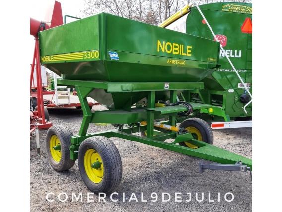 Fertilizadora De Arrastre Nobile Mod 3300 - 9 De Julio
