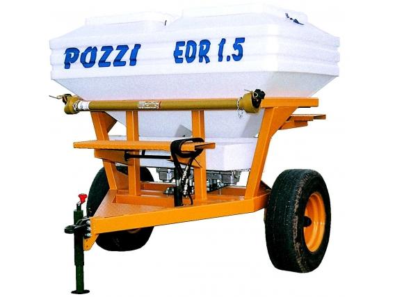 Fertilizadora De Arrastre Pozzi 1500 Lts