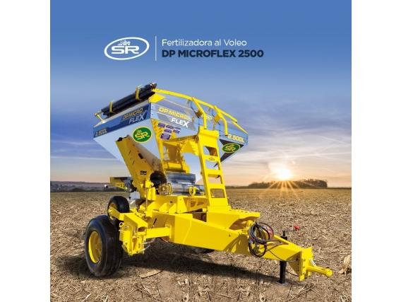 Fertilizadora Sr Dp Microflex 2500 Lts