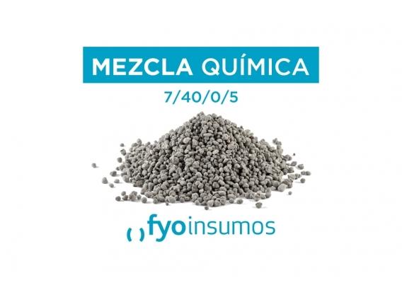 Fertilizante Mezcla Química 7- 40 - 0 - 5