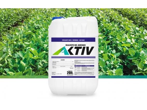 Fertilizante Sulfato De Amonio Aktiv