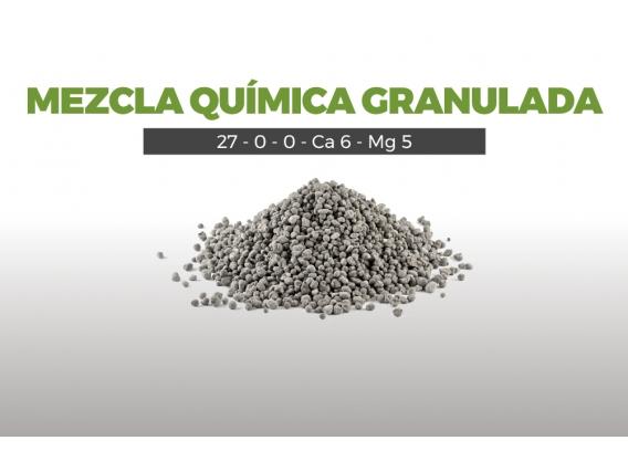 Mezcla Quimica Granulada 20 - 20 - 0 - Ca 7 - S 2