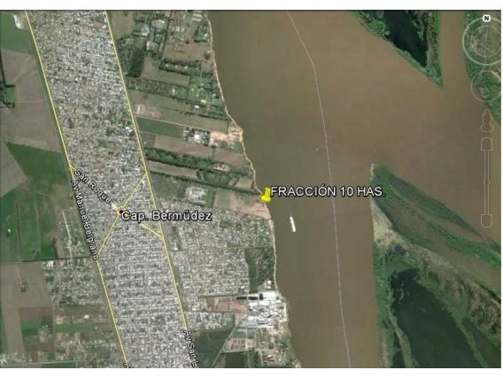 Fracción De Terreno Con Costa De Rio Paraná