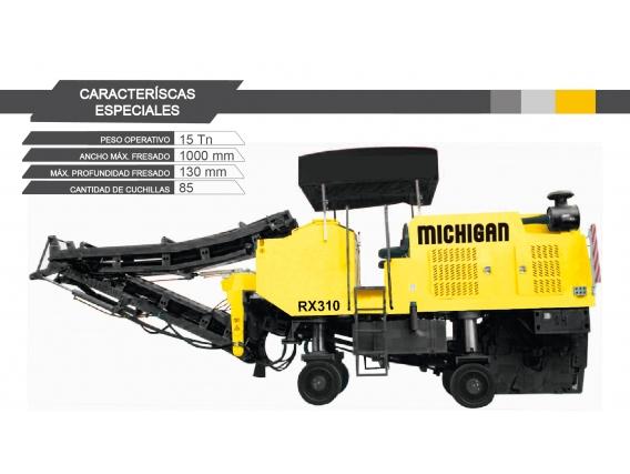 Fresadora De Asfalto Michigan Rx310
