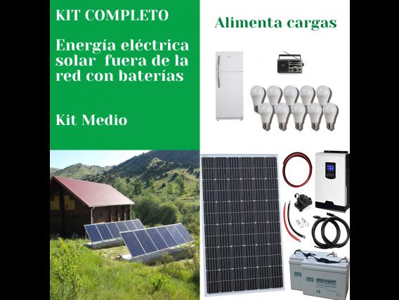 Generador Energía Eléctrica Solar Fuera De Red Medio Voltronic