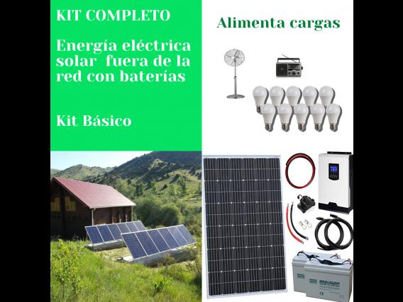 Generador Energía Eléctrica Solar Fuera De Red Básico Voltronic