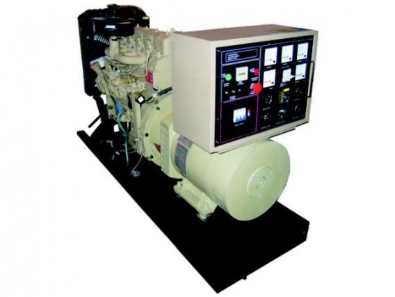 Generador Hanomag Diesel - Abierto - 30 Kw