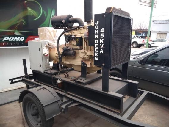 Generador John Deere 45 Kva Para Pyme