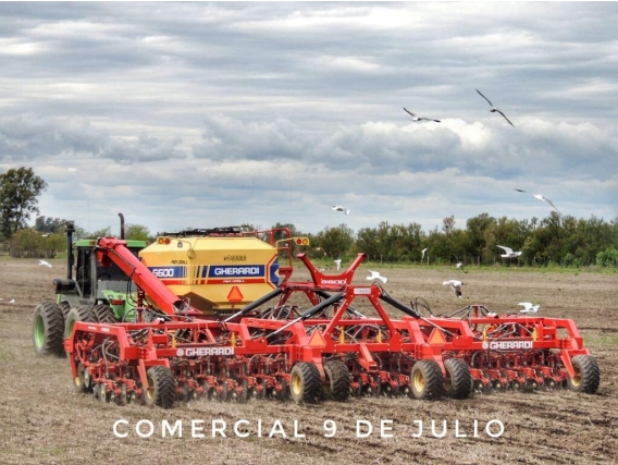 Gherardi G-600 Air Drill Doble Disco Nueva - 9 De Julio
