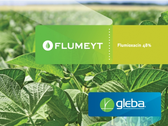 Herbicida Flumeyt Flumioxazin - Gleba