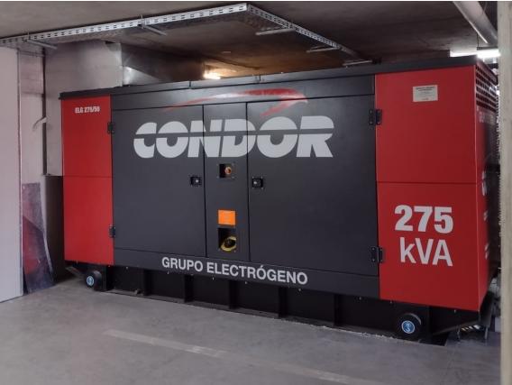Grupo Electrógeno CONDOR ELG 275 Kva