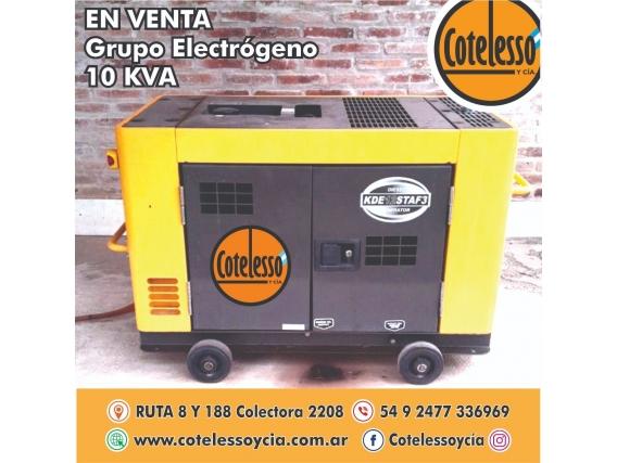 Grupo Electrógeno 10Kva