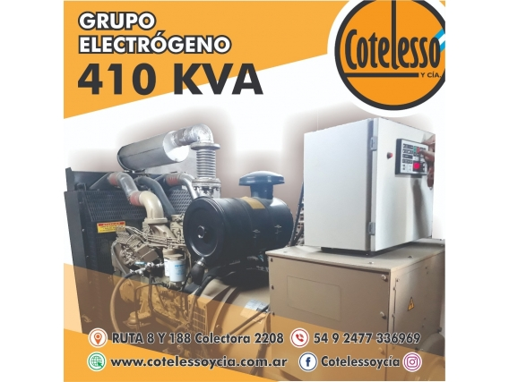 Grupo Electrógeno 410Kva