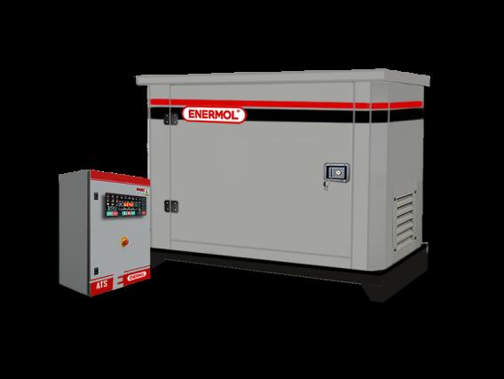 Grupo Electrógeno Enermol ENVG-17500 a Gas