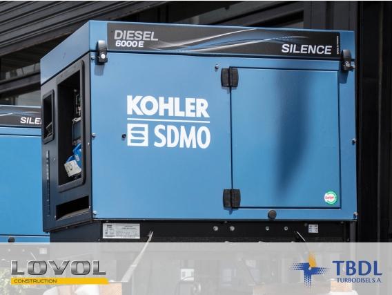 Grupo Electrógeno Lovol Kohler 6000