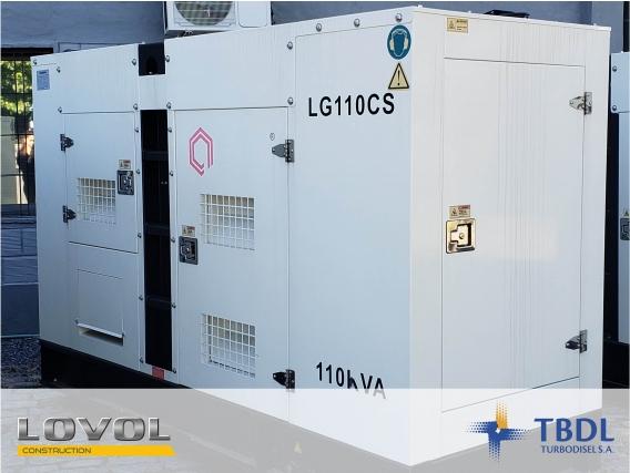 Grupo Electrógeno Lovol Lg110Cs