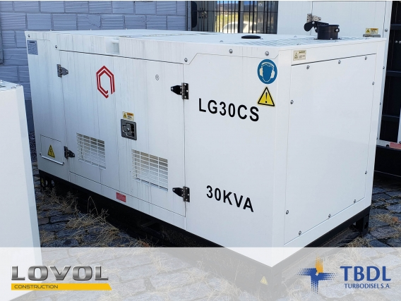 Grupo Electrógeno Lg30Ps Diesel Cummins