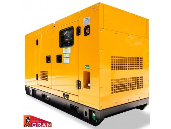 Grupo Electrogeno Cram Cg130 Gas 130 Kva