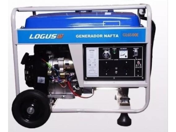 Grupo Electrogeno Logus Gl6500E 6500 Watts