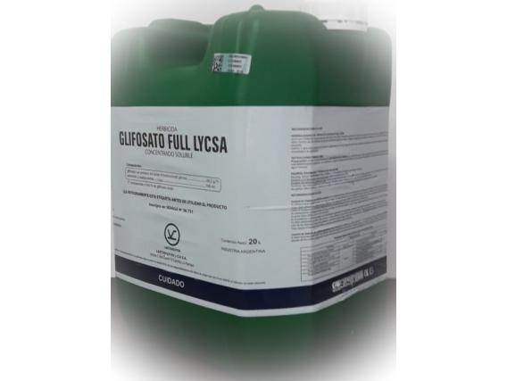 Herbicida Glifosato Full Lycsa - Lartirigoyen