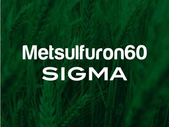 Herbicida Metsulfuron 60 Sigma - Sigma Agro