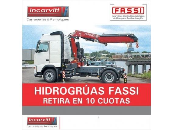 Hidrogrúa Fassi - Incarvitt Carrocerías Remolques