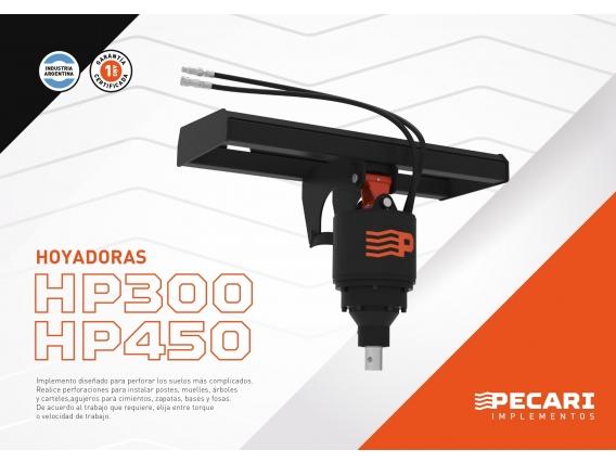 Hoyadora Speed Pecari Hp 300 Para Minicargadora