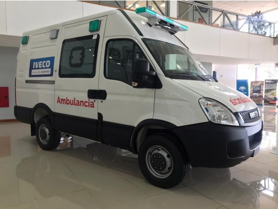 Iveco Daily 35S15 Ambulancia Lista Para Trabajar