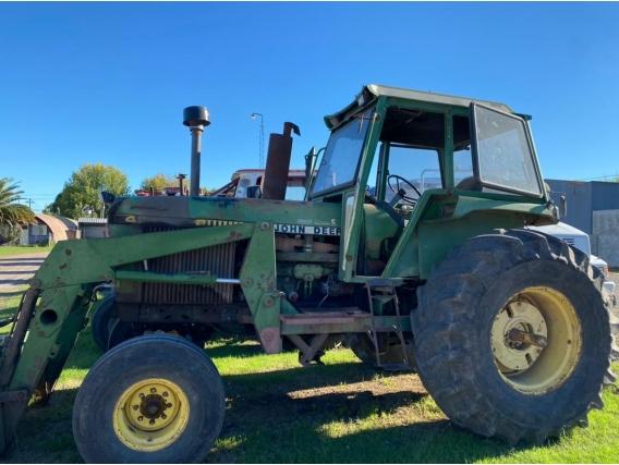 Tractor John Deere 4050 Con Pala Frontal - Año: 1990