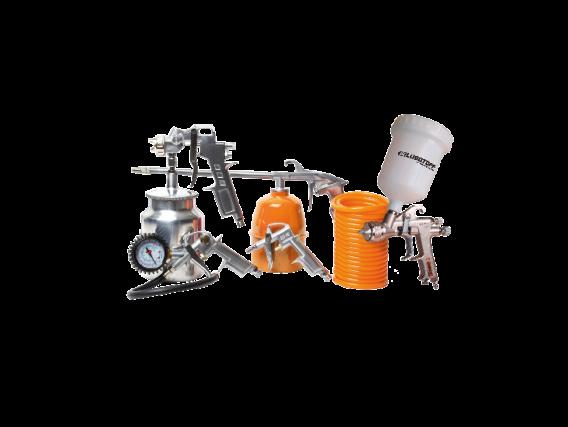 Kit 5 Piezas Lusqtoff Aa-5000S Para Compresor De Aire