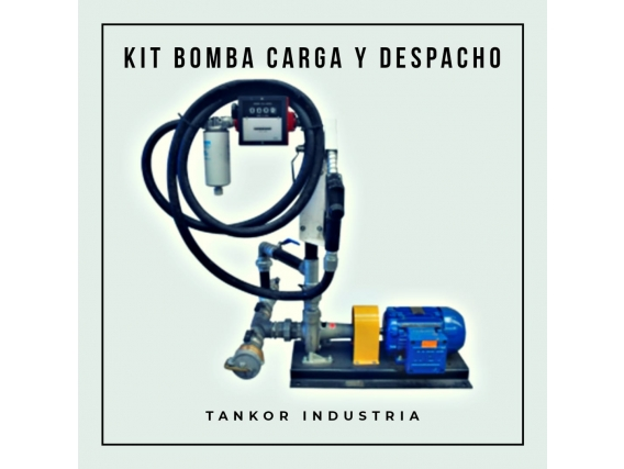 Kit Bomba Para Carga Y Despacho Gasoil Tankor Industria