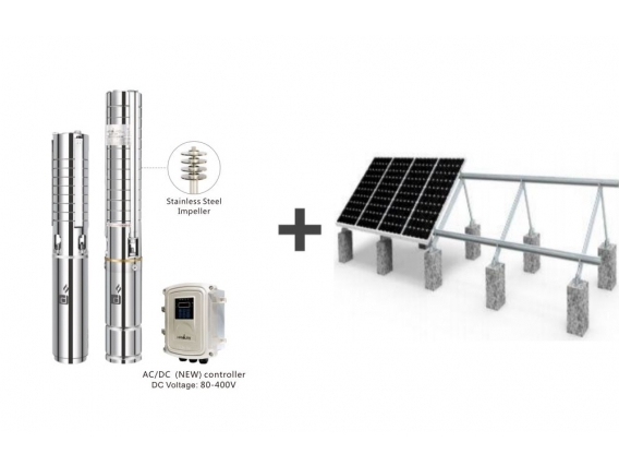 Kit Bomba Solar 15 Hp 70.000 Litros/hora