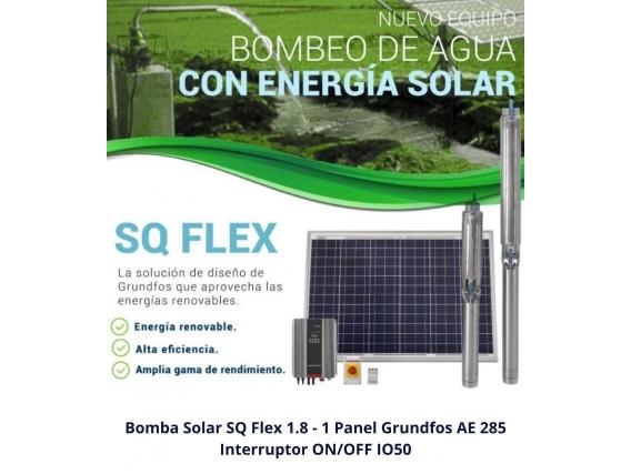 Kit Bombeo Solar Chico Grundfos - Super Oferta
