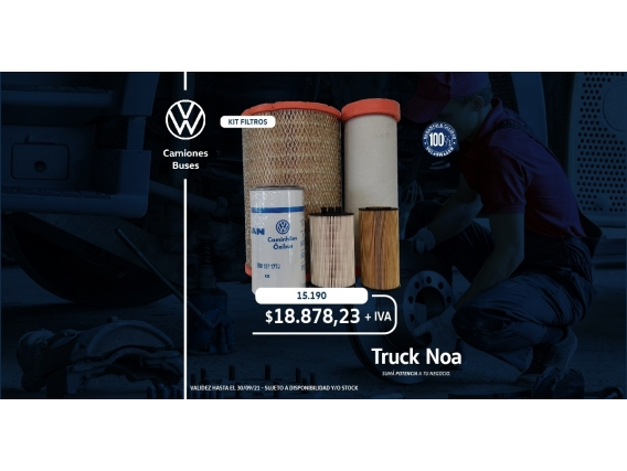 Kit De Filtros Volkswagen Constellation 15190