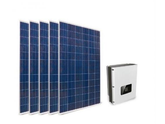 Kit Solar On Grid 5Kw 15 Paneles 340W / Inverter 5 Kw