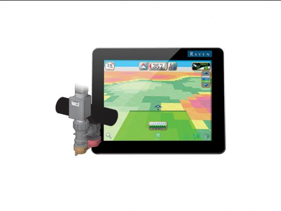 Kit Raven Hawkeye® con monitor de rendimiento Viper® 4 + 36M Para 9 Secciones para Tractor John Deere 4730