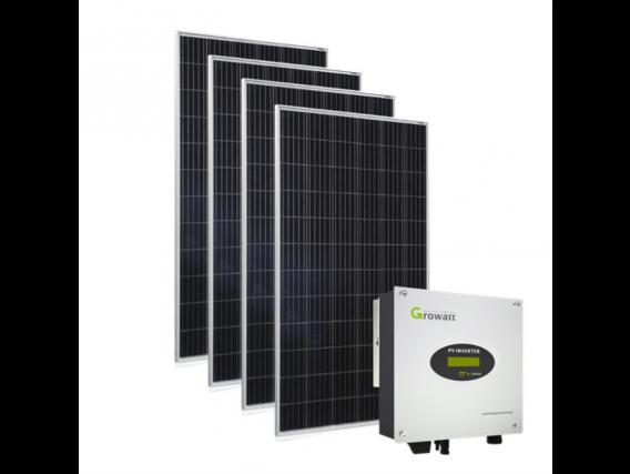 Kit Solar On Grid 2 . Energia Generada 2.068 Kwh