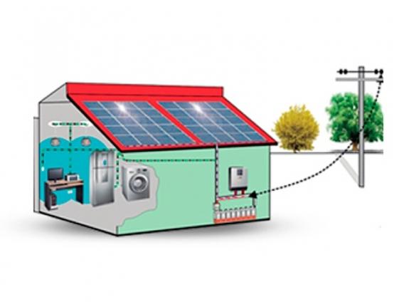 Kit Solar Off Grid 2 Kw 6 Paneles 340W Inverter 3Kw
