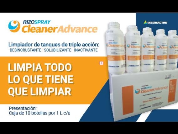 Limpiador De Tanques Rizospray Cleaner Advance X 10 Lts