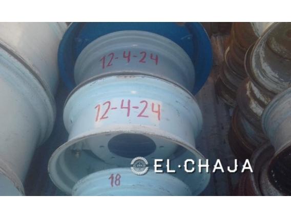 Llanta Agricola Para Tractor 12-4-24 8 Agujeros