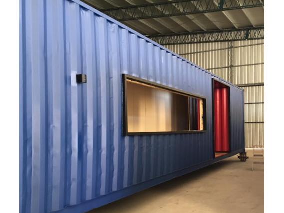 Local Comercial En Container Box House 40