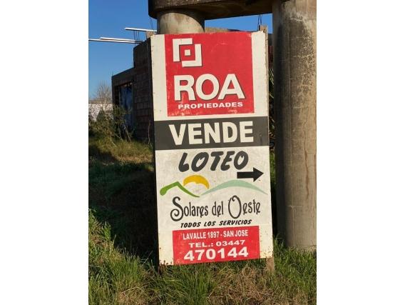 Loteo En San Jose Con Financiacion En 60 Cuotas