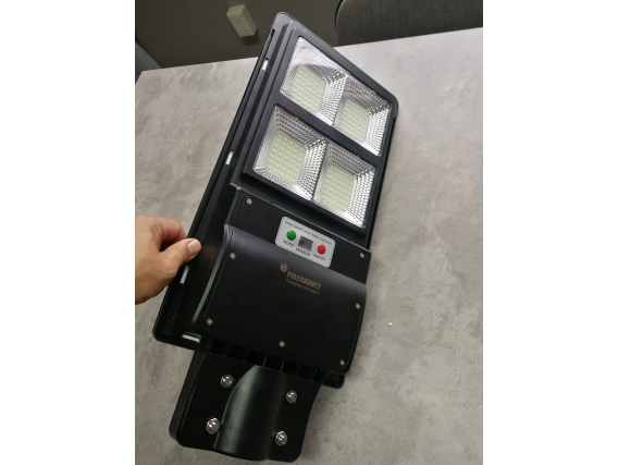 Luminaria Led Solar Fiberkuvet 60W Abs